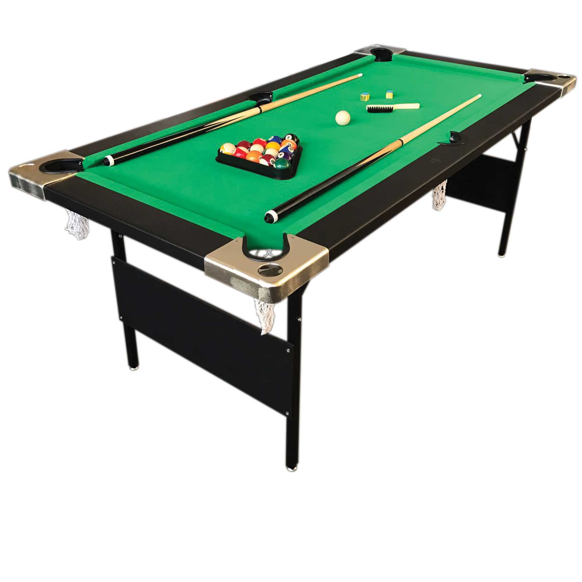 6 39 feet billiard pool table portable snooker accessories. Black Bedroom Furniture Sets. Home Design Ideas