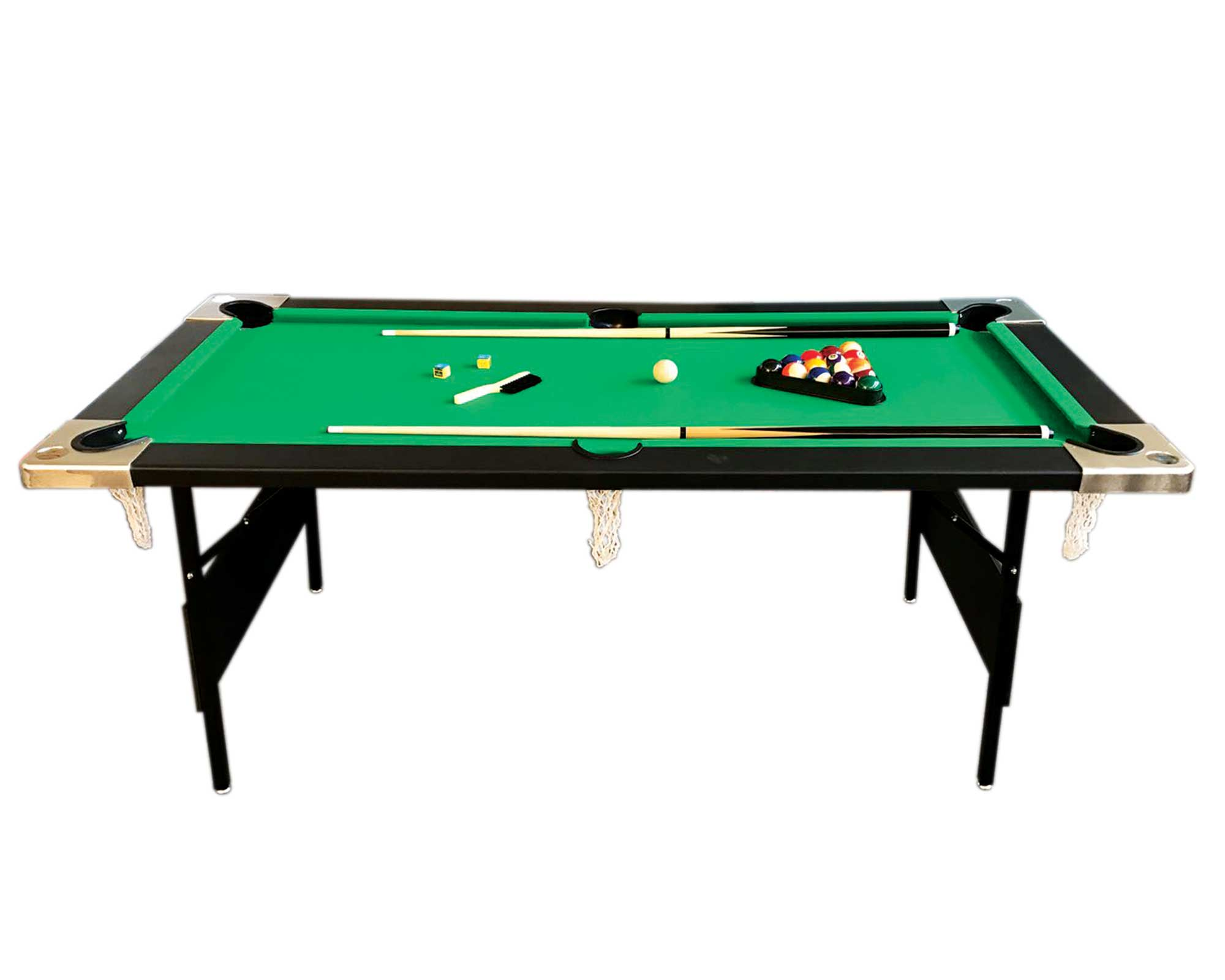 6 39 feet billiard pool table portable snooker accessories for Portable pool